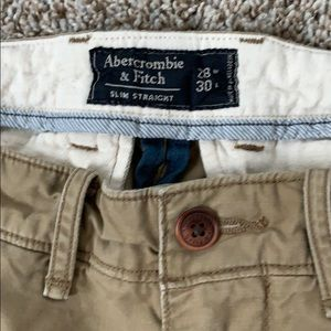 Abercrombie & Fitch Pants - Abercrombie Men's Slim Straight Chinos